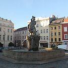 Olomouc Jupiter Fountain by Elena Skvortsova