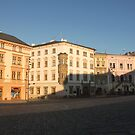 Olomouc Lower Square Palaces by Elena Skvortsova