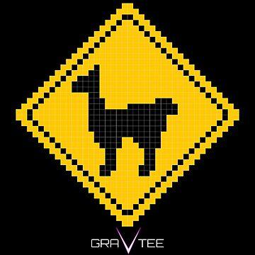 Llama Xing by gravtee