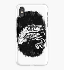 9GAG - THE 'IF' DINOSAUR iPhone Case/Skin