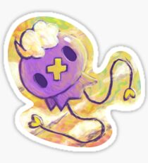 Drifloon sticker Sticker