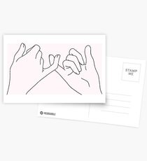 pinky promise Postcards