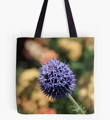 Blue Orb Tote Bag