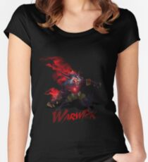 Warwick, the Uncaged Wrath of Zaun Women's Fitted Scoop T-Shirt