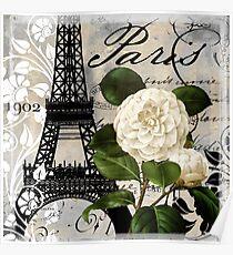 Paris Blanc I Poster