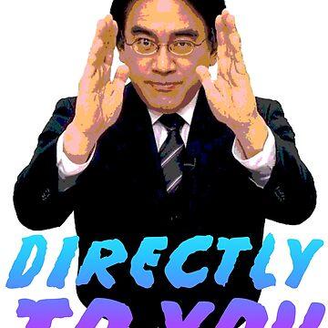 Directly To You - Satoru Iwata by superotaku