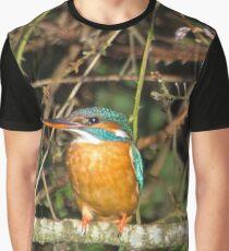Female Kingfisher  Graphic T-Shirt