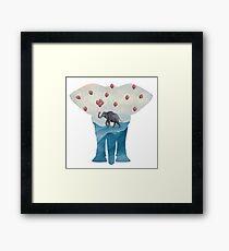 Elephant Dreams Framed Print