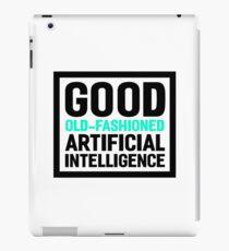 Good old-fashioned AI, black font iPad Case/Skin
