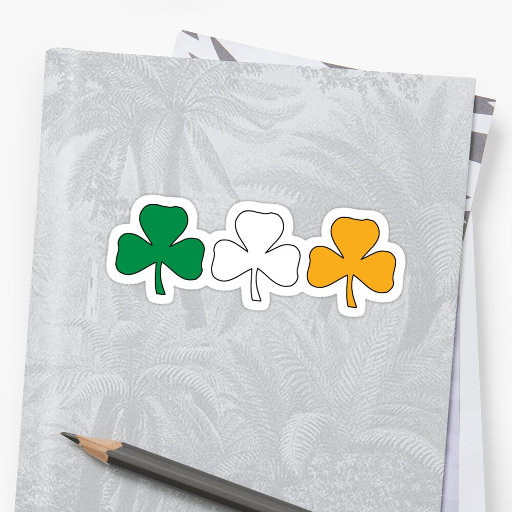 Ireland Shamrock Flag by HolidayT-Shirts