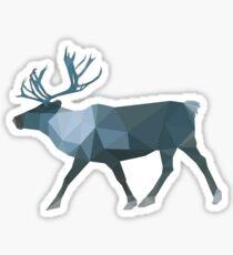 cool mountain caribou Sticker