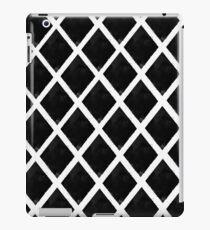 Black and White Diamonds iPad Case/Skin