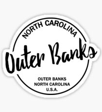 Äußere Banken North Carolina Sticker