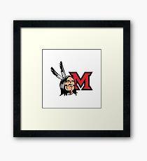 Miami Redskins Framed Print