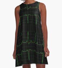 Normal Heart Rhythm A-Line Dress