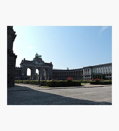 Parc du Cinquantenaire: Brussels Photographic Print