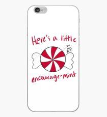 Encourage-Mint iPhone Case