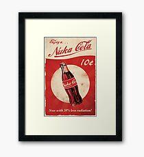 Fallout - Nuka Cola Framed Print