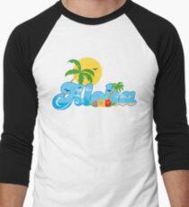 Aloha Hawaii T-Shirt Hawaiian Paradise Beach Sun Sand TShirt Men's Baseball ¾ T-Shirt
