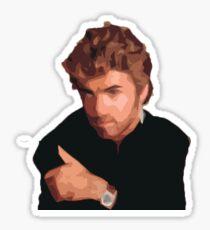 George Micheal Sticker