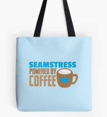 Seamstress powered by coffee Tote Bag