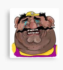 Sad Wario Canvas Print