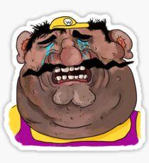 Sad Wario Sticker