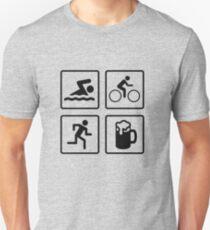 Triathlon Unisex T-Shirt