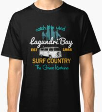 Catch The Wind Lagundri Bay Indonesia Surfing Classic T-Shirt
