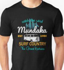 Catch The Wind Mundaka Espana Surfing Unisex T-Shirt