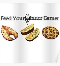 Feed your Inner Gamer Poster