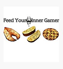 Feed your Inner Gamer Photographic Print