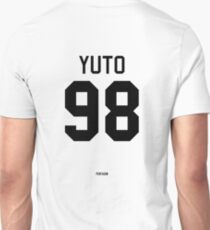 Yuto Jersey (Black Text) Unisex T-Shirt