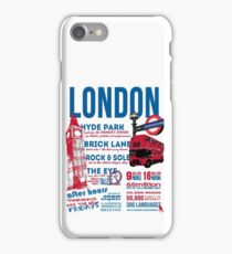 London Infographic iPhone Case/Skin
