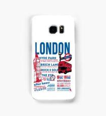 London Infographic Samsung Galaxy Case/Skin