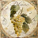 Tuscany Table Chablis Blanc Wine Grapes by mindydidit