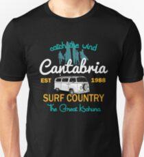 Catch The Wind Cantabria Espana Surfing Unisex T-Shirt