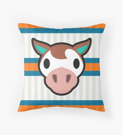 Animal Crossing New Leaf: Throw Pillows Redbubble