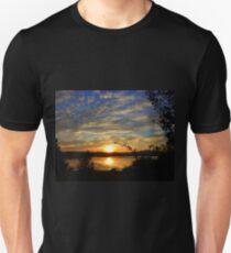 Inch Island Evening Sky......................Ireland Unisex T-Shirt