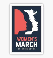 Women's march on washington 2017 Sticker