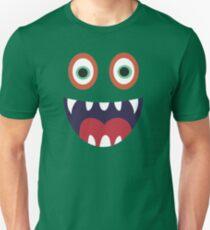 Cool Happy Monster Face T-shirt Cute Smily Face Kids Tshirt T-Shirt