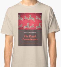 The Royal Tenenbaums WES ANDERSON zebra poster Classic T-Shirt