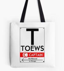 Retro CTA sign Toews Tote Bag