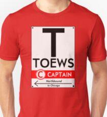Retro CTA sign Toews Unisex T-Shirt