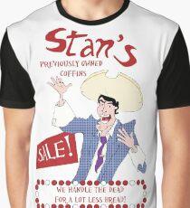 Monkey Island - Stan's coffins Graphic T-Shirt