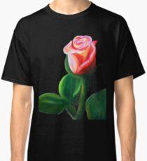 Oil Pastel Rose Classic T-Shirt