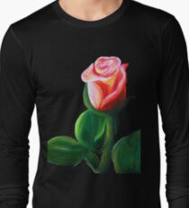 Oil Pastel Rose T-Shirt