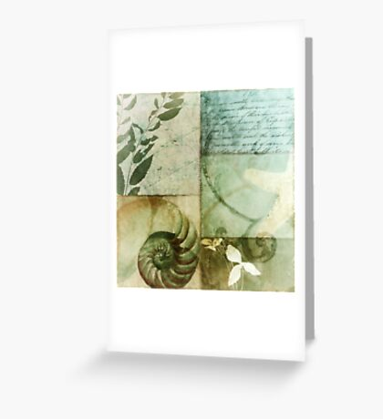 Beach Expressions I Greeting Card