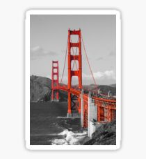 The Golden Gate Bridge Sticker