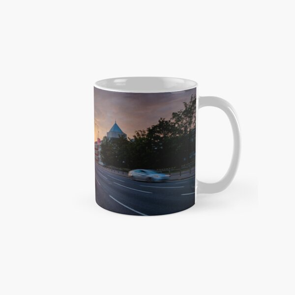 Sunset On Queen's Road Classic Mug